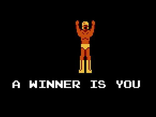 A winner is you!