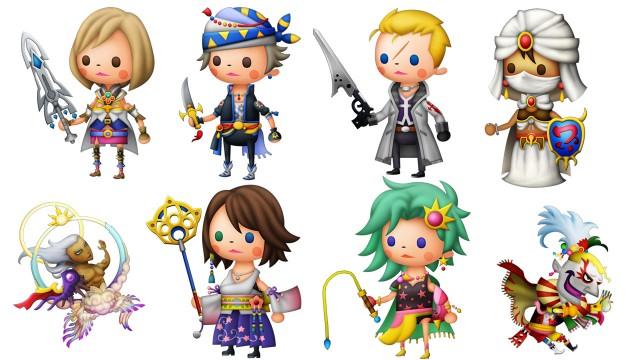 Theatrhythm: Final Fantasy Characters