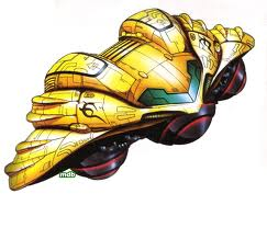 Samus Aran's Gunship from Super Metroid