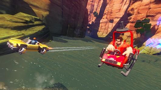 Wreck-it Ralph in Sonic & Sega All-Star Racing