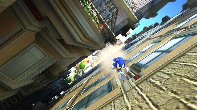 Sonic Generations HD Screen