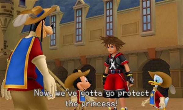 Kingdom Hearts 3D Dream Drop Distance screenshot 1