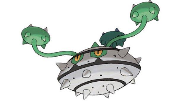 Ferrothron artwork, Pokémon Black and White