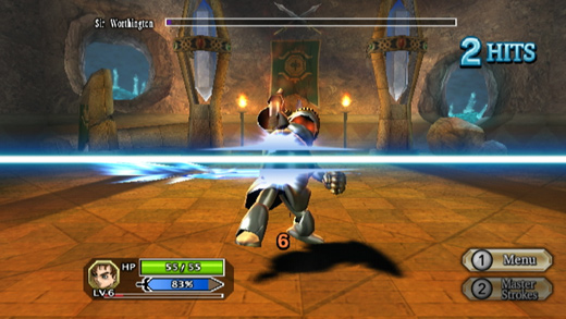 Dragon Quest Swords: The Masked Queen and the Tower of Mirrors Screenshot 2
