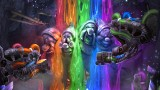 Epic Mickey: Power of Two Concept Art - Rainbow Falls