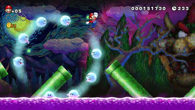 New Super Mario Bros U screenshot 1
