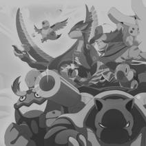 Pokémon Black and White Square