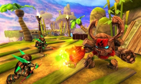 skylanders giants 3ds screenshot 1