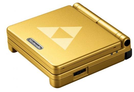 Zelda Triforce GBA SP