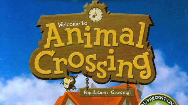 Animal Crossing GC masthead