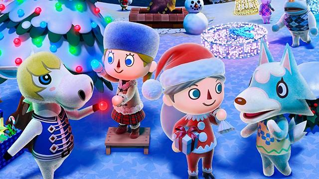 Animal Crossing New Leaf - Winter