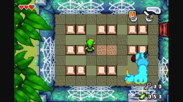 Zelda Minish Cap Deepwood Shrine