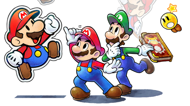 Mario & Luigi Paper Jam masthead