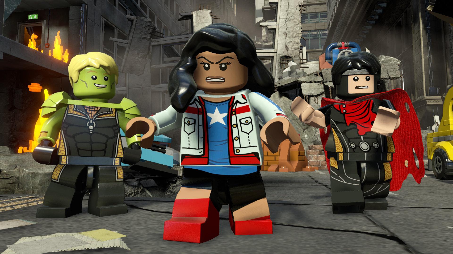 Review Lego Marvel S Avengers Wii U Nintendojo Nintendojo