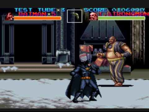 Batman Returns SNES