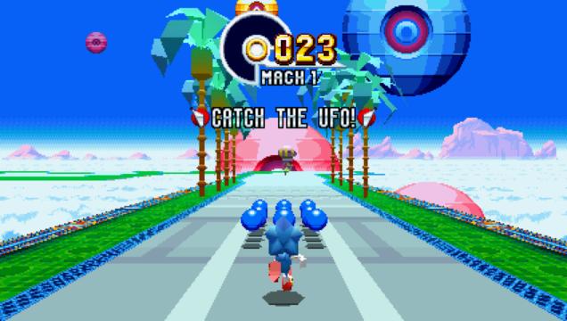 Sonic Mania Special Level Screenshot